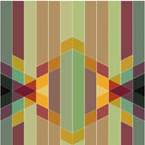 Vector abstract colorful geometric pattern retro and art deco st Royalty Free Stock Photography