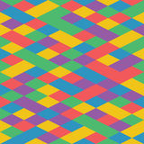 Vector abstract colorful geometric pattern retro style Royalty Free Stock Image
