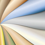 Vector abstract colorful paper background with Stock Images