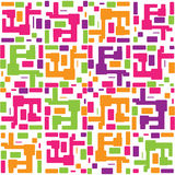 Vector abstract colorful seamless pattern backgrou Stock Image