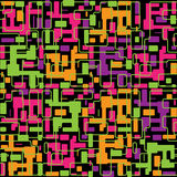 Vector abstract colorful seamless pattern backgrou Royalty Free Stock Photography