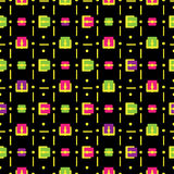 Vector abstract colorful seamless pattern backgrou Royalty Free Stock Photo