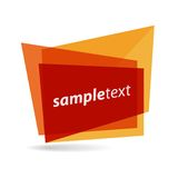 Vector shape Royalty Free Stock Image