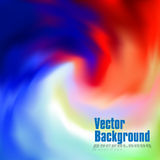 Vector: abstract colorful swirly illustration  background Stock Photo