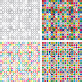 vector abstract colorful tile backgrounds Royalty Free Stock Photography