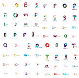 Vector abstract company logo mega collection, type Stock Photos