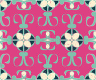 Vector abstract contemporary seamless geometric pattern Royalty Free Stock Image
