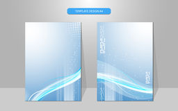 Vector abstract cover design background Stock Photography