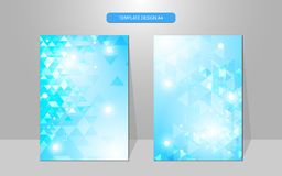 Vector abstract cover design template geometric pattern innovation concept. EPS 10 Stock Photo