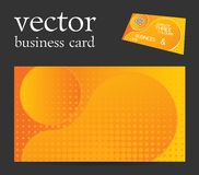 Vector abstract creative business card Royalty Free Stock Photography