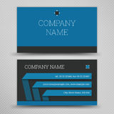 Vector abstract creative business cards Royalty Free Stock Image