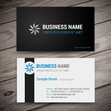 Vector abstract creative business cards Royalty Free Stock Photos