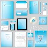 Vector abstract creative business template Stock Photos