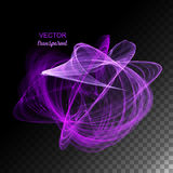 Vector Abstract Curved Lines Royalty Free Stock Photography