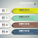 Vector abstract 3d banner  infographics. Vector abstract 3d banner infographic elements Stock Images