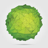 Vector. Abstract 3D geometric illustration. Stock Photo