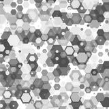 Vector abstract 3d hexagonal. Background with hexagon element Stock Illustration