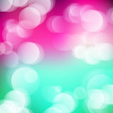 Vector abstract defocused bokeh lights background. Festive blurred background with bokeh effect for holidays, parties, birthdays. Stock Photos