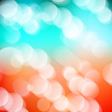 Vector abstract defocused bokeh lights background. Festive blurred background with bokeh effect for holidays, parties, birthdays. Vector abstract defocused Royalty Free Stock Photos