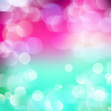 Vector abstract defocused bokeh lights background. Festive blurred background with bokeh effect for holidays, parties, birthdays. Vector abstract defocused Stock Photography