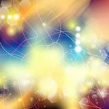 Vector abstract defocused bokeh lights background. Festive blurred background with bokeh effect for parties, nightlife night club. Vector abstract defocused Stock Photo