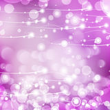 Vector abstract defocused bokeh lights background. Stylish hipster blurry background with bokeh effect for holidays, parties, birt Royalty Free Stock Image