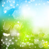 Vector abstract defocused bokeh lights nature spring summer background. Stylish hipster blurry background with bokeh effect for ho Stock Image