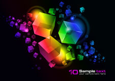 Vector abstract design Royalty Free Stock Photos