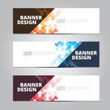 Vector abstract design banner template. stock photos