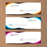 Vector abstract design for banner web template and background. Modern vector design eps 10. Vector abstract design for banner web template and background. it can Royalty Free Stock Photos