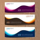 Vector abstract design for banner web template and background. Modern vector design eps 10. Vector abstract design for banner web template and background. it can Stock Photography