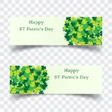 Vector illustration of a St. Patrick`s Day. banner background vector illustration