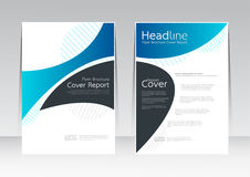 Free Vector Abstract Design Frame Cover Report Poster Template. Stock Photos - 95149883