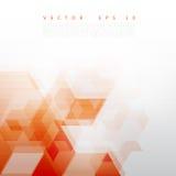Vector Abstract Design Hexagonal Background Royalty Free Stock Photos