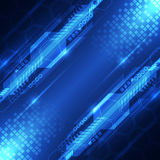 Vector abstract digital future technology concept, background Stock Image