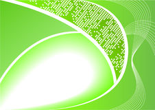 Vector abstract digital green background Royalty Free Stock Photo
