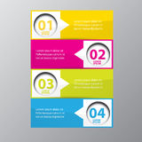 Vector Abstract digital illustration Infographic. Vector illustration can be used for workflow layout, diagram, number options, web design stock illustration