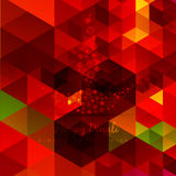 Vector abstract diwali design Stock Photography