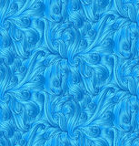 Vector abstract doodle seamless pattern Royalty Free Stock Photo
