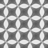 Vector abstract dotted geometric pattern background. Based on ethnic ornaments. Stipple technique. Pointillism Royalty Free Stock Photo