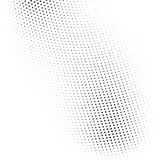 Vector abstract dotted halftone texture. Vector abstract dotted halftone template background. Pop art dotted gradient design element. Grunge halftone textured Stock Photography