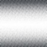 Vector abstract dotted halftone texture. Vector abstract dotted halftone template background. Pop art dotted gradient design element. Grunge halftone textured Royalty Free Stock Photography