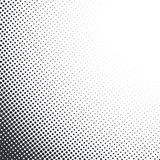 Vector abstract dotted halftone texture Stock Images