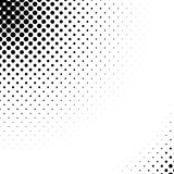 Vector abstract dotted halftone texture Royalty Free Stock Photo