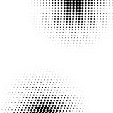 Vector abstract dotted halftone texture. Grunge halftone textured pattern with dots. Vector pop art dotted halftone gradient design element. Dots abstract Royalty Free Stock Images