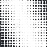 Vector abstract dotted halftone texture Royalty Free Stock Image