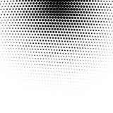 Vector abstract dotted halftone texture. Vector abstract dotted halftone template background. Pop art dotted gradient design element. Grunge halftone textured Stock Images