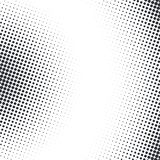 Vector abstract dotted halftone texture. Vector abstract dotted halftone template background. Pop art dotted gradient design element. Grunge halftone textured Royalty Free Stock Images