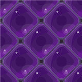 Vector abstract electron eye seamless background. Pattern Royalty Free Stock Photography