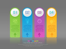 Vector abstract element for business. Strategy in stages. Steps Royalty Free Stock Photo